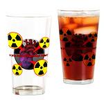 Chernobyl Heart Drinking Glass