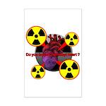 Chernobyl Heart Mini Poster Print