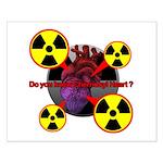 Chernobyl Heart Small Poster