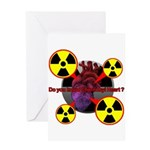 Chernobyl Heart Greeting Card