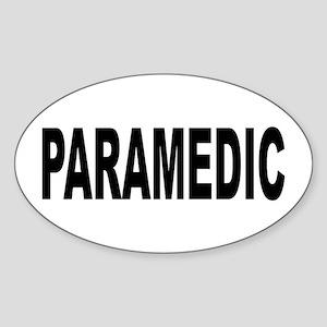 Paramedic Sticker (Oval)