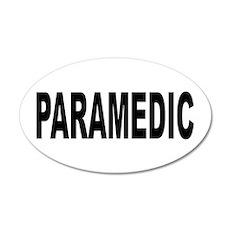 Paramedic 22x14 Oval Wall Peel