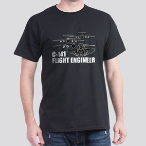 C-141 Flight Engineer Dark T-Shirt