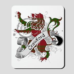 Crawford Tartan Lion Mousepad