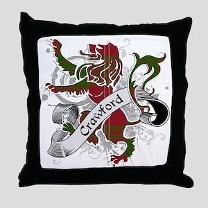 Crawford Tartan Lion Throw Pillow