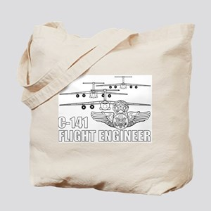C-141 Flight Engineer Tote Bag