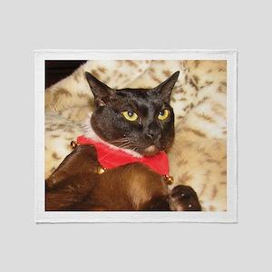FPG Xmas Cat VIII - Throw Blanket