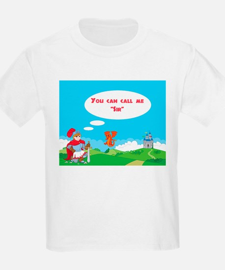 You can call me Sir Kids T-Shirt
