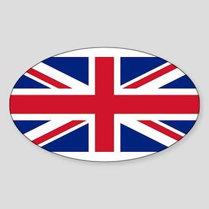 United Kingdom Sticker (Oval)
