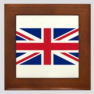 United Kingdom Framed Tile