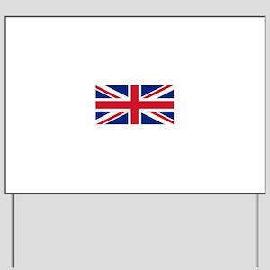 United Kingdom Yard Sign