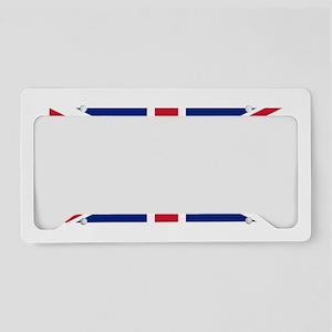 United Kingdom License Plate Holder