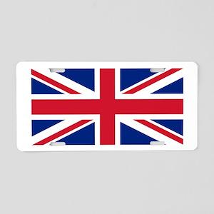 United Kingdom Aluminum License Plate