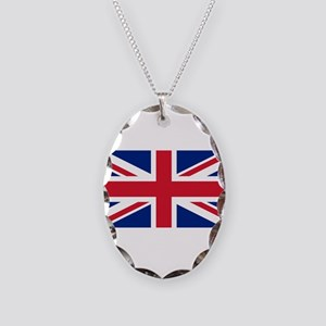 United Kingdom Necklace Oval Charm