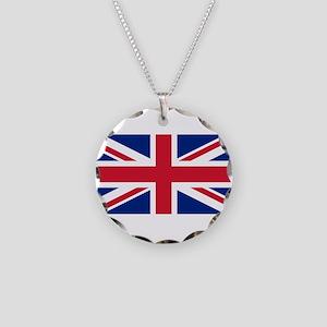 United Kingdom Necklace Circle Charm