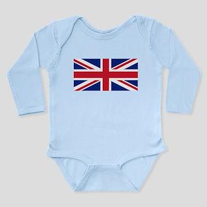 United Kingdom Long Sleeve Infant Bodysuit