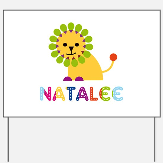 Natalee the Lion Yard Sign