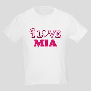 I Love Mia T-Shirt