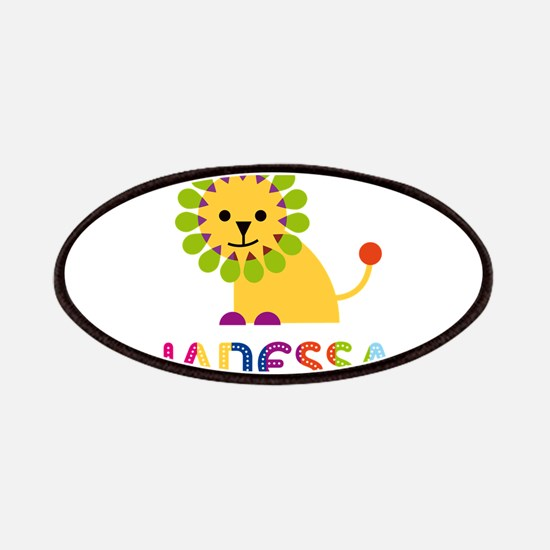Janessa the Lion Patches