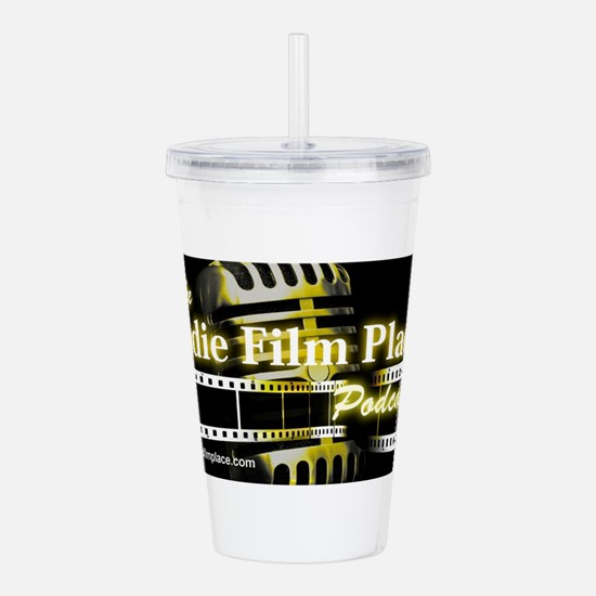 The Indie Film Place l Acrylic Double-wall Tumbler