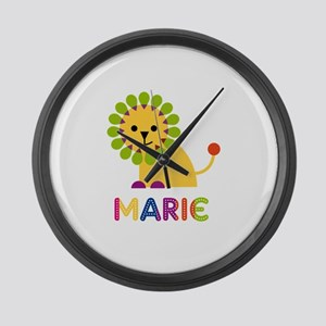 Marie the Lion Large Wall Clock