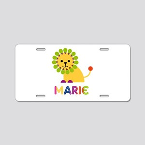 Marie the Lion Aluminum License Plate