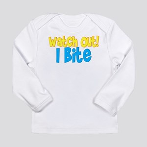 I bite Long Sleeve Infant T-Shirt