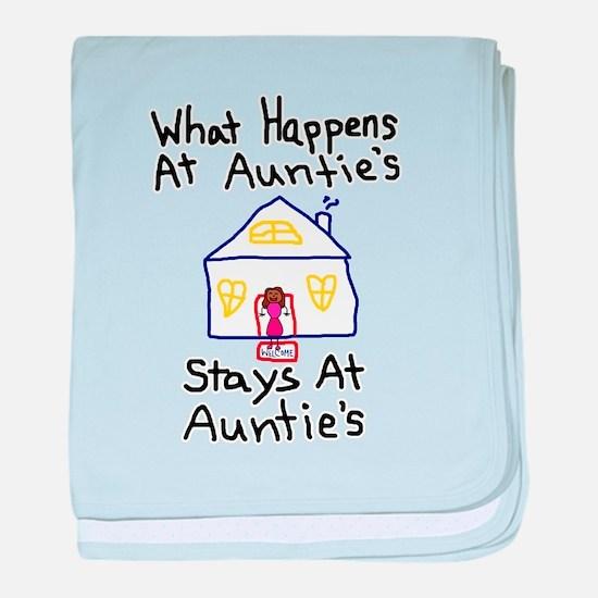 Auntie's House baby blanket