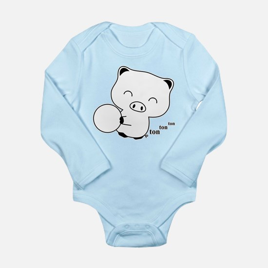 Bowling Long Sleeve Infant Bodysuit