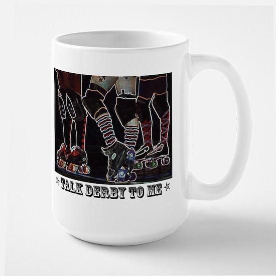 Talk Derby Neon Mugs
