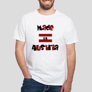 Made In Austria White T-Shirt