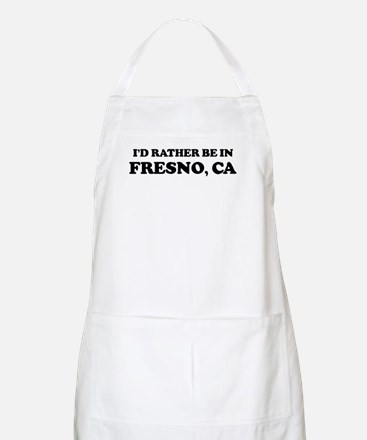 Rather be in Fresno BBQ Apron