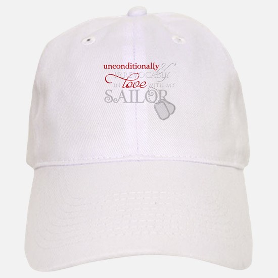 Unconditionally in Love with Baseball Baseball Cap