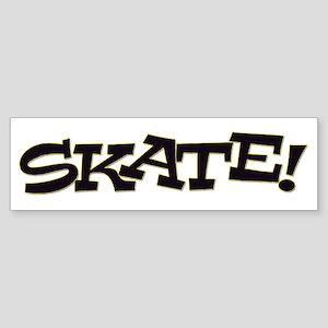 Skate Don't Hate Sticker (Bumper)