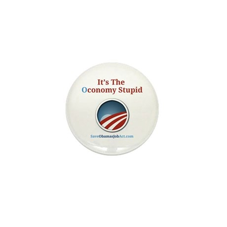 It's The Oconomy Stupid Mini Button (10 pack)