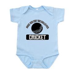Got the balls for Cricket Infant Bodysuit