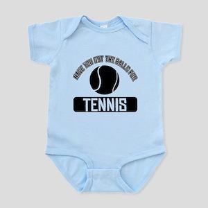 Got the balls for Tennis Infant Bodysuit