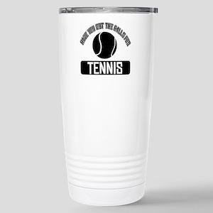Got the balls for Tennis Stainless Steel Travel Mu