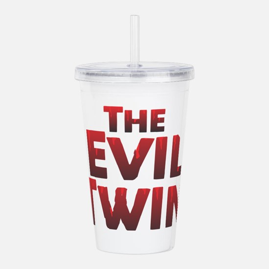The Evil Twin Acrylic Double-wall Tumbler