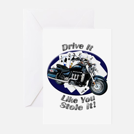 Triumph Rocket III Touring Greeting Cards (Pk of 2