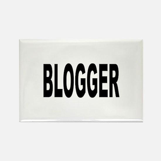 Blogger Rectangle Magnet
