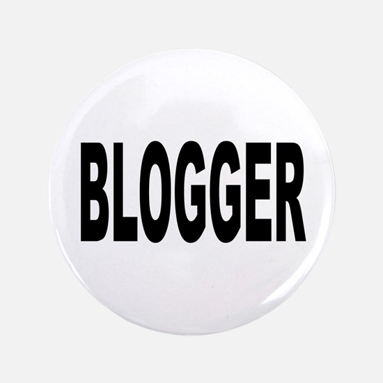 "Blogger 3.5"" Button (100 pack)"