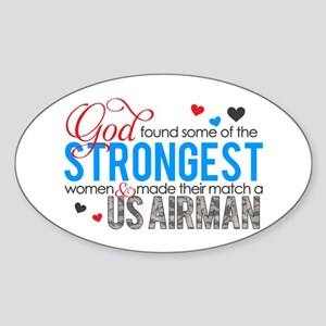 Strongest Sticker (Oval)