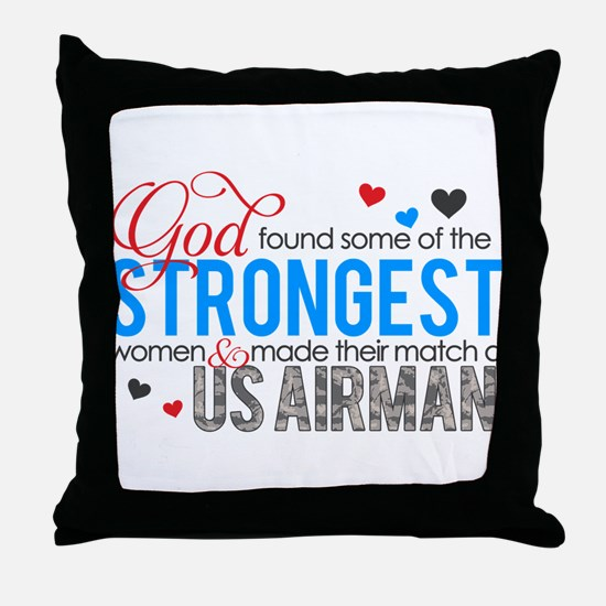 Strongest Throw Pillow