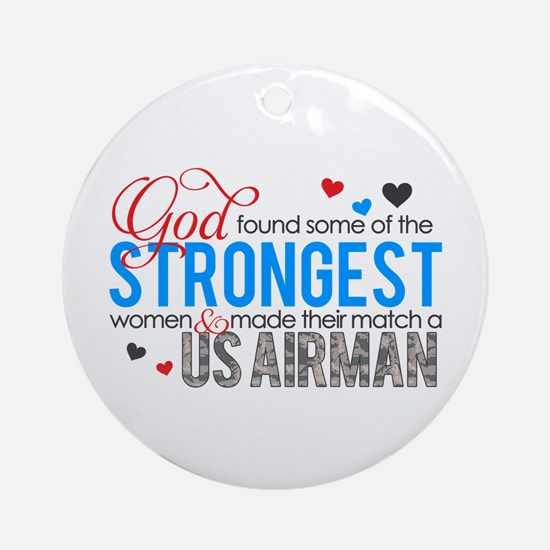Strongest Ornament (Round)