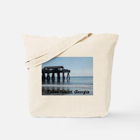 Tybee Island Georgia 17 Tote Bag