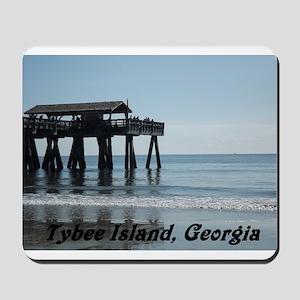 Tybee Island Georgia 17 Mousepad