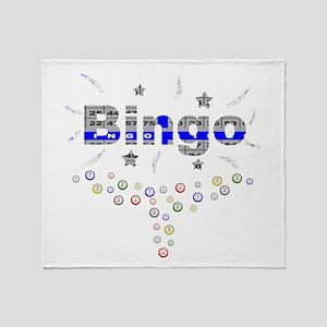 Bingo Glitz Throw Blanket