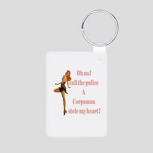 oh no corpsman Aluminum Photo Keychain