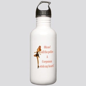 oh no corpsman Stainless Water Bottle 1.0L